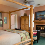 Chickasaw Room at the Montford Inn, Norman Oklahoma hotel and bed and breakfast