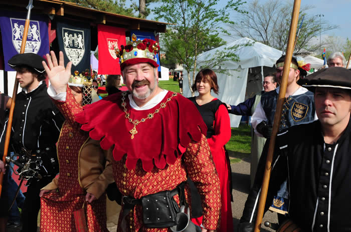 Best Events in Norman Year Round - Medieval Fair in April