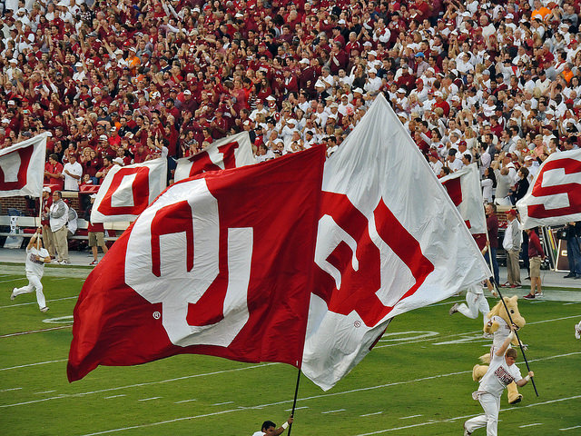 Catch a University of Oklahoma Sooners Sports Team