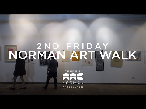 2ndfriday norman art festival