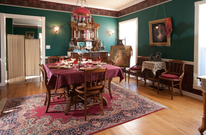 The Victorian Lady - Best Oklahoma Getaway - www.montfordinn.com