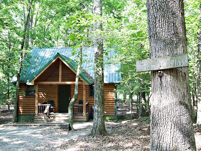Rivers Edge Cottages - Best Oklahoma Getaway - www.montfordinn.com