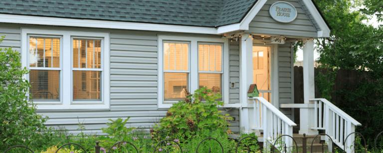 Prairie House Outside