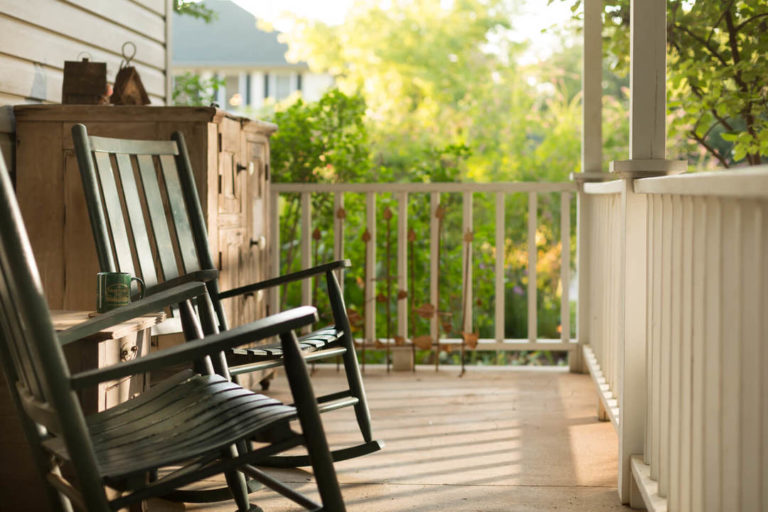 Porch Rocking Chairs - Hotels Norman Ok
