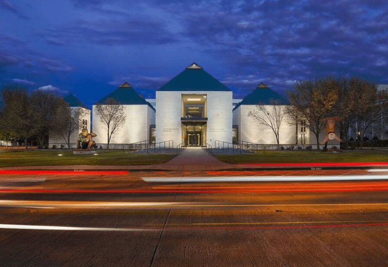 Looking for things to do in Norman OK? Check out Fred Jones Jr. Museum of Art in Norman OK