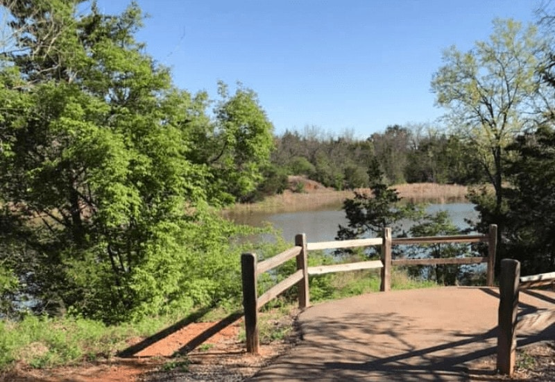 Looking for things to do in Norman OK? Check out Sutton Wilderness Park in Norman OK